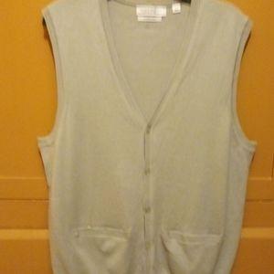 Men's Calvin Klein sweater Vest large